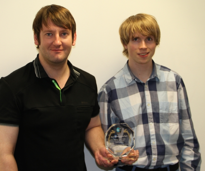 Dr Chris Bailey and Raphael Clegg-Vinell with their Award from W4A_2.jpeg