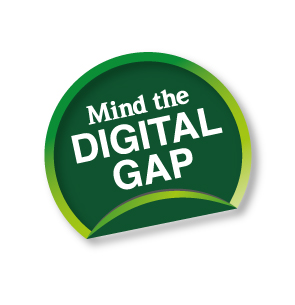 Mind The Digital Gap logo