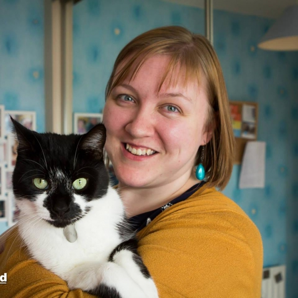 Claiure Millross works at AbilityNet. Her cat doesn't.