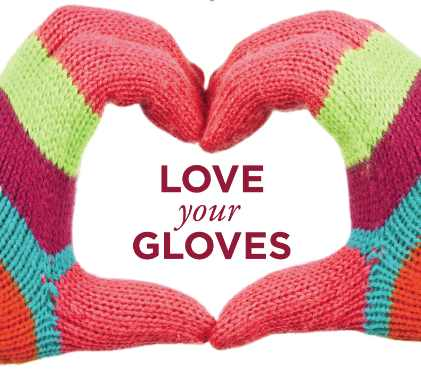 Love your Gloves Awareness Month poster
