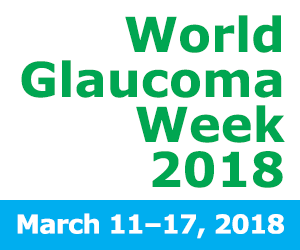 World Glaucoma Week 2018 logo