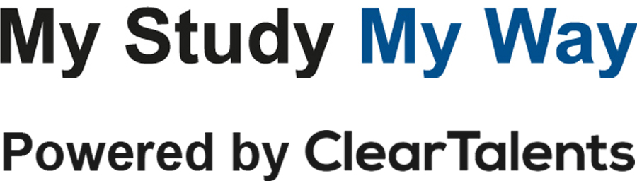 My Study My Way powered by Clear Talents logo