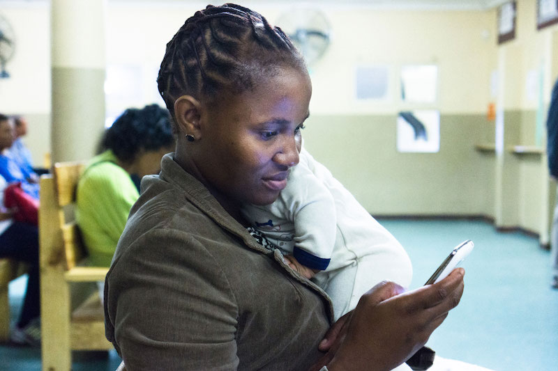 Praekelt's MomConnect system uses texts to reacj over 1 million South African mums