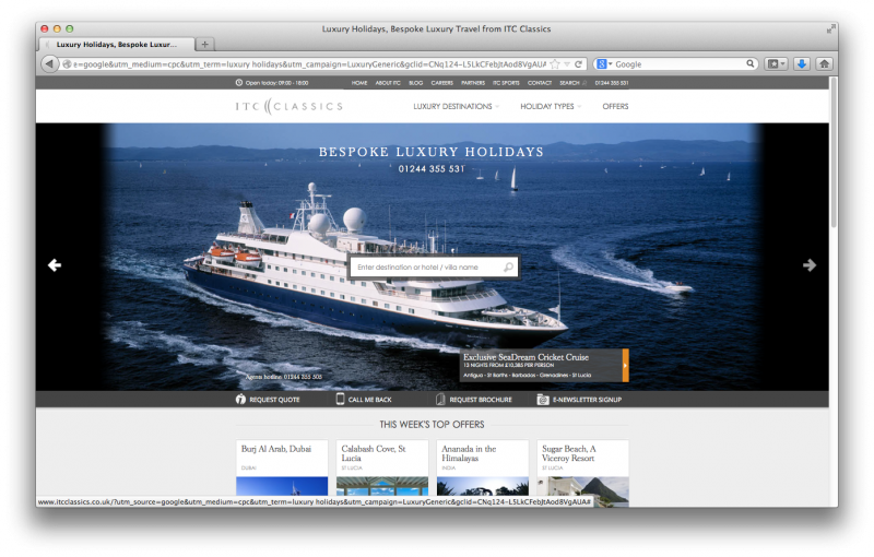 Many people will be booking cruise holidays online