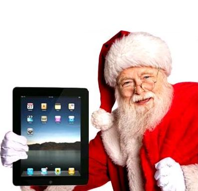 Did Father Christmas bring you and ipad?