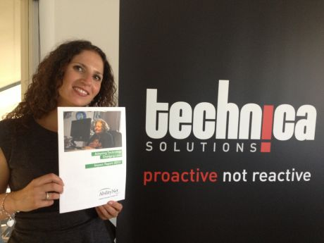 Vanessa Fisher of Technica Solutions was recommended to speak to AbilityNet after enquiries on LinkedIn