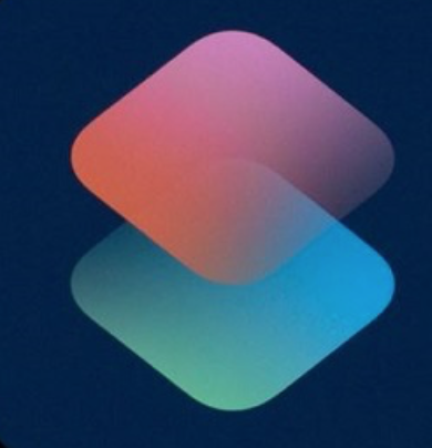 Apple shortcuts logo
