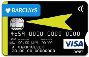 Barclays high visibility bank cards are proving popular with all its customers