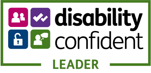 Disability Confident Leader logo