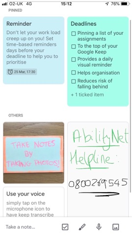 Note-taking hacks for students with Autism | AbilityNet