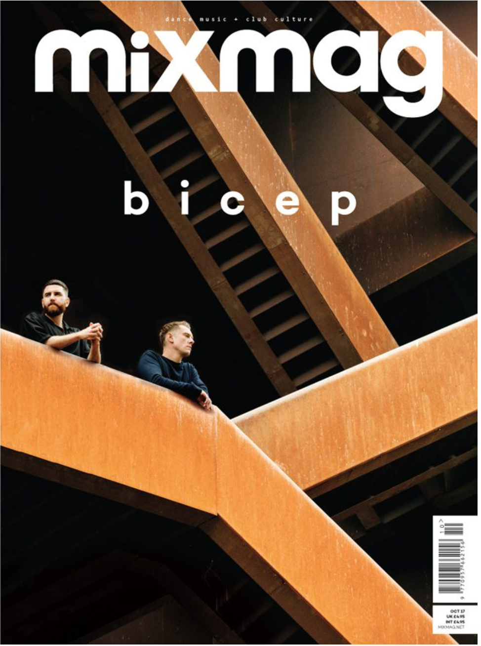 Mixmag October 2017 cover featuring Bicep