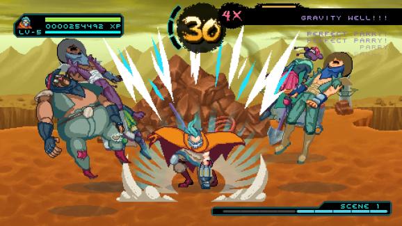 Way of the Passive Fists dalam tangkapan layar dalam pertempuran