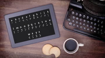 Braille On A Tablet, Concept of Impossibility? © Michaklootwijk | Dreamstime.com