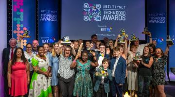 2018 Tech4Good Awards Winners