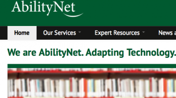 ability net home button