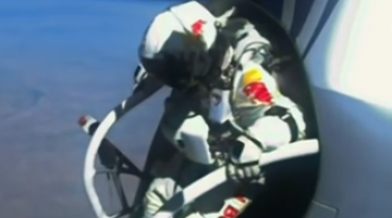 What can we learn from Felix Baumgartner's record-breaking jump from space in 2012