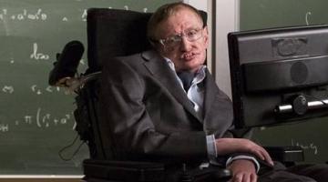 The late Stephen Hawking