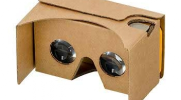 Google Cardboard is a low cost VR headset