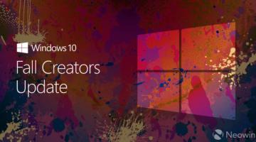 Windows 10 Fall Creator Update